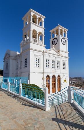 kyklades: Agios Nikolaos church in Tripiti village, Milos island, Greece