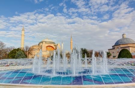 Hagia Sophia, Istanbul, Turkey Stock Photo - 21974450