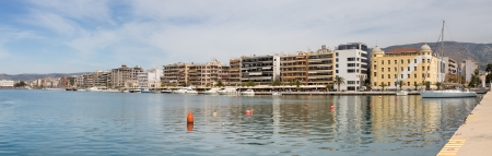 thessaly: Panorama of Volos waterfront, Thessaly, Greece