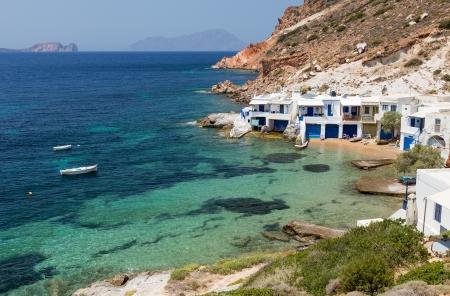 kyklades: Fourkovouni, Milos island, Cyclades, Greece