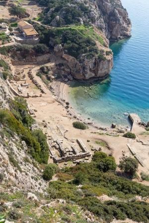 The Sanctuary of goddess Hera at Perachora, Corinthia, Greece