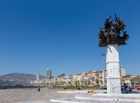 Rep�blica Tree Monument, Izmir, Turqu�a