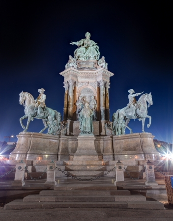 Maria Theresa Monument, Vienna, Austria photo