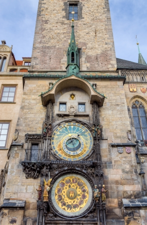 Prague astronomical clock, Czech Republic photo