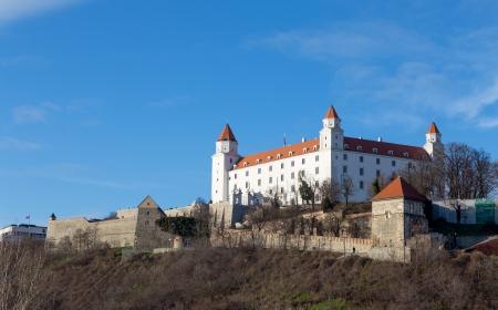 Bratislava castle, dominant feature of the city, Slovakia