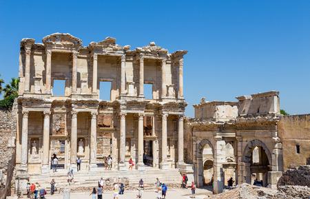 Library of Celsus, Ephesus, Turkey  Editorial