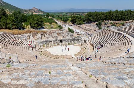 偉大な劇場のエフェソス, トルコ