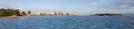 Panoramic view of Eretria, Euboea, Greece