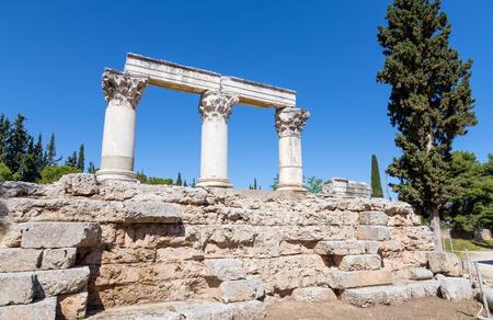 Temple E, Ancient Corinth, Greece photo