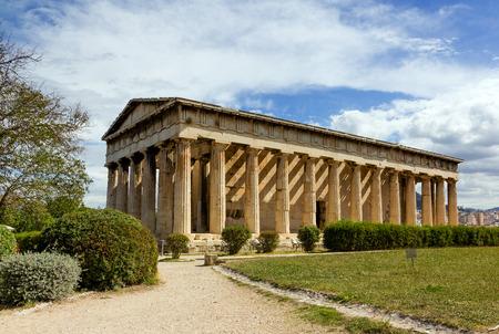 Temple of Hephaestus, Athens, Greece photo