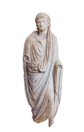 augustus: Roman emperor Augustus (Reign 27 BC - 14 AD), isolated