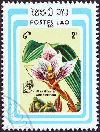 LAOS - CIRCA 1985: A stamp printed in Laos from the \Argentina \