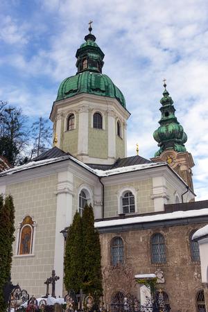 st peter: St. Peter Abbey church, Salzburg, Austria