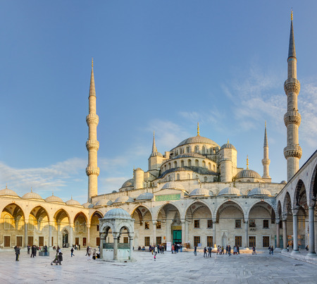sultan: Blue mosque (Sultan Ahmed Mosque), Istanbul, Turkey Editorial