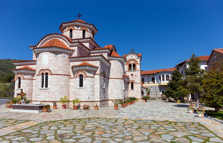 thessaly: Lower Panagia Xenia monastery, Thessaly, Greece