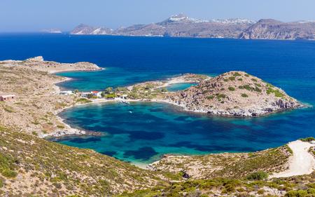 kyklades: Patrikia bay, Milos island, Cyclades, Greece