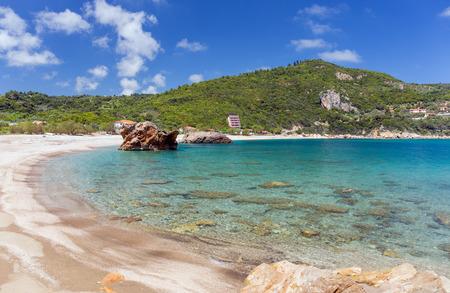 thessaly: Paltsi beach in Pelio, Thessaly, Greece