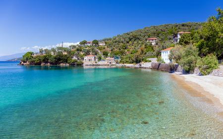 thessalia: Beach in Milina village, Pelio, Greece