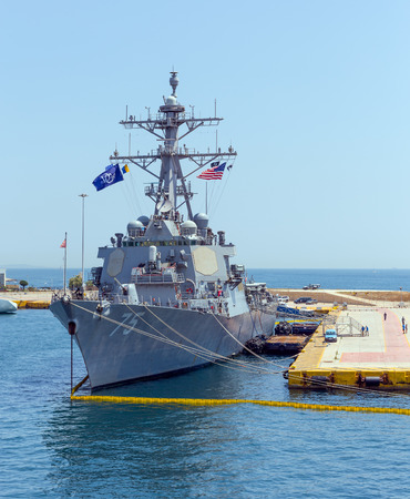 aegis: Arleigh Burke class guided missile destroyer USS Donald Cook (DDG-75)