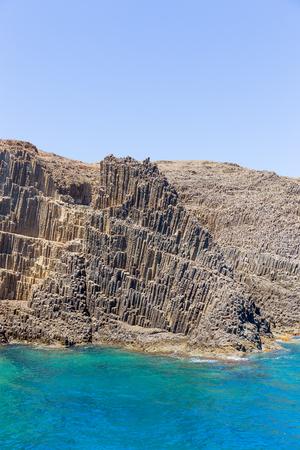 Glaronisia rocky islets, Milos island, Cyclades, Greece Stock Photo