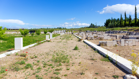 alexandros: The Agora of ancient Pella, Macedonia, Greece