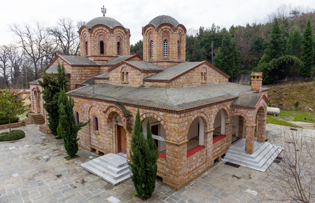 St. Dionysios Monastery, Litochoro, Greece