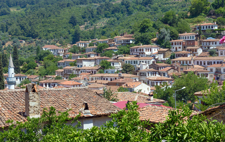 seljuk: View of Sirince village, Izmir Province, Turkey Stock Photo