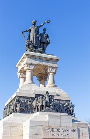 Medical Heroes Monument, Bucharest, Romania