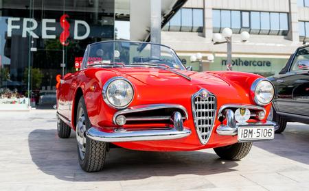 Alfa Romeo Giulietta Spider of 1961. Editorial