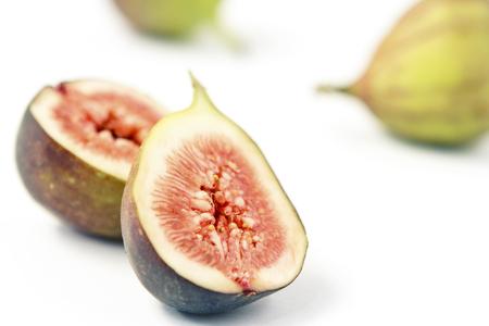 Fresh fig, cut