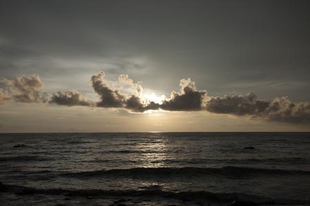 Sunset on Ko Chang photo