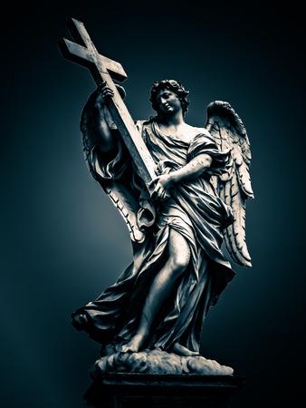 bernini: Berninis Bridge of Angels  Rome Italy