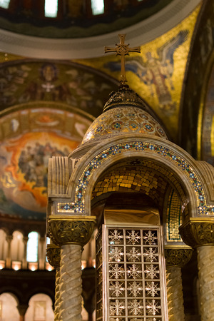 louis: Saint Louis Basilica Baptistery  Saint Louis MO