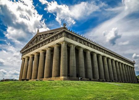 パルテノン神殿レプリカ ナッシュビル TN