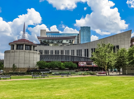 Country Music Hall of Fame  Nashville TN Redactioneel