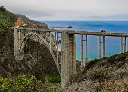 bixby: Bixby Bridge  Pacific Highway  Big Sur CA