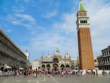 saint marks: Saint Marks Square  Venice Italy