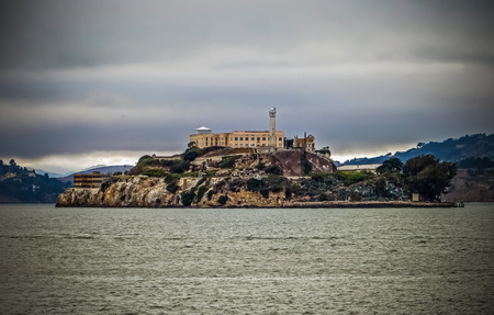 alcatraz: The Rock  Alcatraz  San Francisco CA Editorial