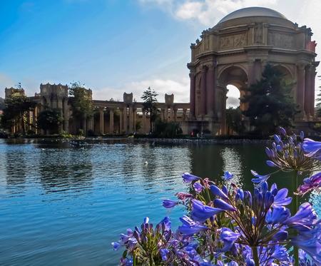 rotunda: The Rotunda  The Colonnade  San Francisco CA Stock Photo