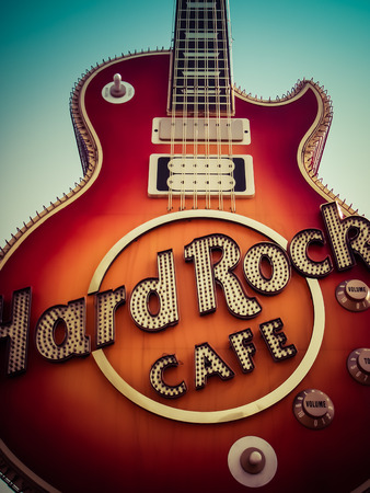 Rock N Roll  Les Paul  Hard Rock Caf  Las Vegas Nevada