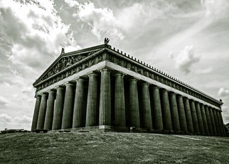 replica: The Parthenon Replica  Nashville TN