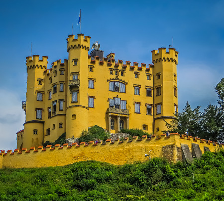 ludwig: Hohenschwangau Castle  Mad King Ludwig of Bavaria  Fussen Germany