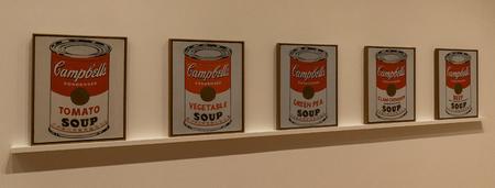 ニューヨークの MOMA - Andy Warhol、Campbell のスープ缶します。
