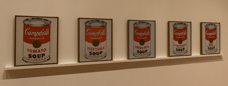 andy warhol: New York City MOMA - Andy Warhol, Campbells Soup Cans