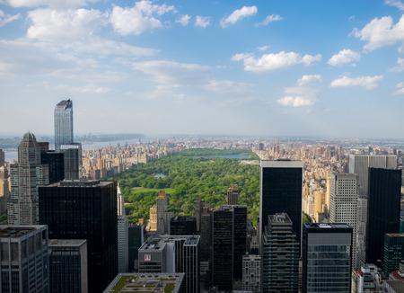 city park skyline: New York City Skyline - Central Park Editorial