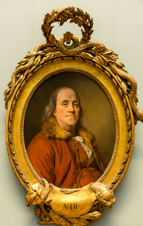 New York City The Met - Benjamin Franklin Portrait