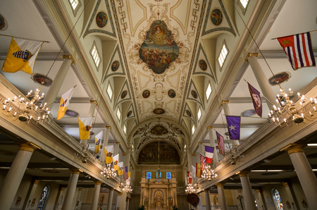 louis: New Orleans Saint Louis Cathedral Interior