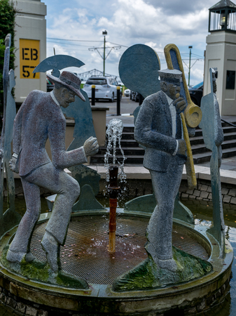 New Orleans Jazz Procession Fountain