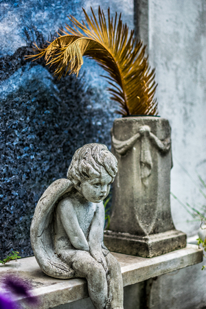 New Orleans Lafayette Cemetery Angel