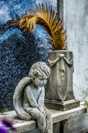 angel cemetery: New Orleans Lafayette Cemetery Angel